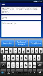Sony Xperia X10 - E-mail - E-mails verzenden - Stap 8