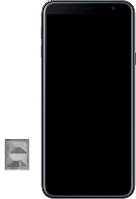 Samsung Galaxy J4+ - SIM-Karte - Einlegen - Schritt 8