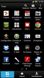 HTC S728e One X Plus - E-mail - Configuration manuelle - Étape 3