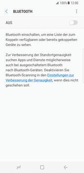 Samsung Galaxy S8 - Bluetooth - Geräte koppeln - 8 / 12