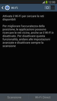 Samsung Galaxy Note III LTE - WiFi - Configurazione WiFi - Fase 5