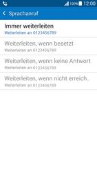 Samsung Galaxy Grand Prime - Anrufe - Rufumleitungen setzen und löschen - 10 / 11