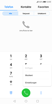 Huawei Mate 10 Pro - Anrufe - Rufumleitungen setzen und löschen - Schritt 4