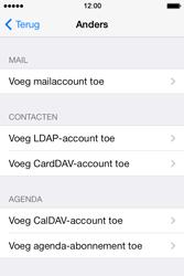 Apple iPhone 4S (iOS 8) - e-mail - handmatig instellen - stap 6