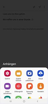 Samsung Galaxy A50 - E-Mail - E-Mail versenden - Schritt 13