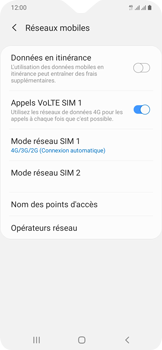 Samsung Galaxy A20e - Réseau - activer 4G - Étape 8