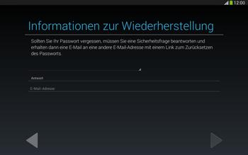 Samsung Galaxy Tab 3 10-1 LTE - Apps - Konto anlegen und einrichten - 15 / 25