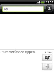 HTC A3333 Wildfire - MMS - Erstellen und senden - Schritt 7