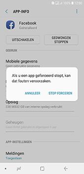 Samsung Galaxy A6 - apps - apps afsluiten - stap 7