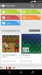 HTC One M8 - Applicazioni - Configurazione del negozio applicazioni - Fase 20