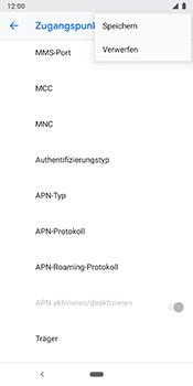 Google Pixel 3 - MMS - Manuelle Konfiguration - Schritt 16