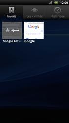 Sony Xperia Arc S - Internet - Navigation sur Internet - Étape 8