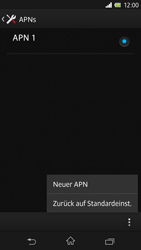 Sony Xperia Z - Internet - Manuelle Konfiguration - Schritt 10