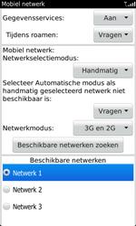 BlackBerry 9860 Torch - netwerk en bereik - gebruik in binnen- en buitenland - stap 8