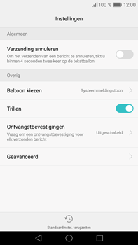 Huawei P9 Plus - SMS - handmatig instellen - Stap 6