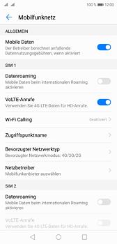 Huawei P20 - Netzwerk - Netzwerkeinstellungen ändern - Schritt 5