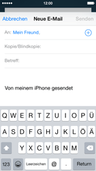 Apple iPhone 5s - E-Mail - E-Mail versenden - 6 / 16
