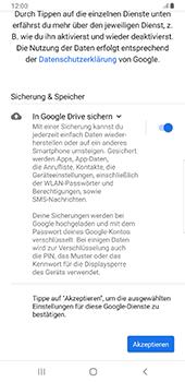 Samsung Galaxy S9 Plus - Apps - Konto anlegen und einrichten - 19 / 22