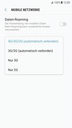 Samsung Galaxy S7 - Android Nougat - Netzwerk - Netzwerkeinstellungen ändern - Schritt 7