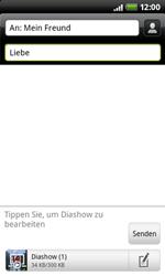 HTC A7272 Desire Z - MMS - Erstellen und senden - Schritt 14