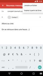 LG Google Nexus 5X - E-mail - envoyer un e-mail - Étape 9
