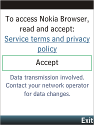 Nokia C2-05 - Internet - Internet browsing - Step 3