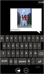 HTC 7 Trophy - MMS - envoi d'images - Étape 10