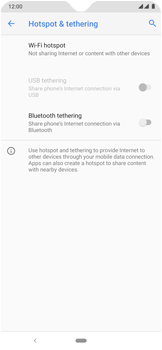 Nokia 7.2 - WiFi - How to enable WiFi hotspot - Step 6