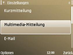 Nokia E72 - MMS - Manuelle Konfiguration - Schritt 24