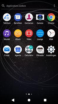 Sony Xperia XA2 Ultra - Wifi - handmatig instellen - Stap 2