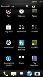 HTC One Mini - Applicazioni - Configurazione del negozio applicazioni - Fase 3