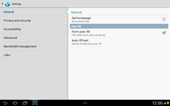 Samsung N8000 Galaxy Note 10-1 - Internet - Manual configuration - Step 20