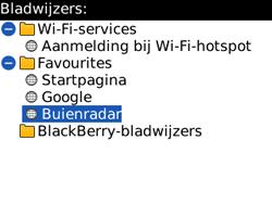 BlackBerry 8520 Curve - Internet - hoe te internetten - Stap 10