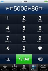 Apple iPhone 4 S - Voicemail - handmatig instellen - Stap 6