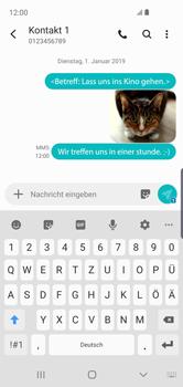 Samsung Galaxy S10e - MMS - Erstellen und senden - 26 / 27