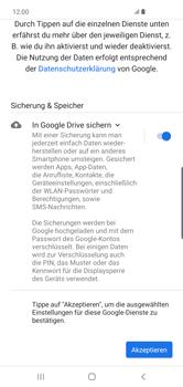Samsung Galaxy S10 Plus - Apps - Konto anlegen und einrichten - Schritt 19