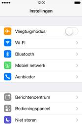 Apple iPhone 4 iOS 7 - wifi - handmatig instellen - stap 3