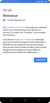 Samsung Galaxy Note9 - E-mail - 032a. Email wizard - Gmail - Étape 11