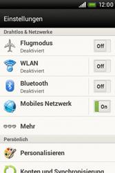 HTC A320e Desire C - Internet - Manuelle Konfiguration - Schritt 5