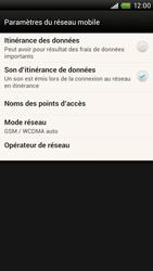 HTC One X Plus - Internet et roaming de données - Désactivation du roaming de données - Étape 7