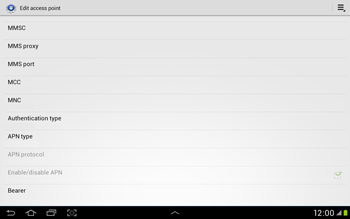 Samsung Galaxy Tab 2 10.1 - MMS - Manual configuration - Step 13