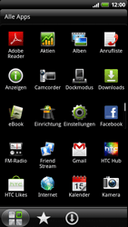HTC Z710e Sensation - WLAN - Manuelle Konfiguration - Schritt 3