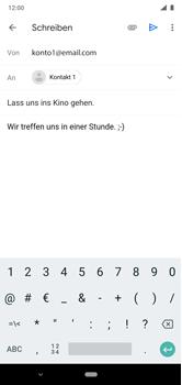 Nokia 6.1 Plus - Android Pie - E-Mail - E-Mail versenden - Schritt 9