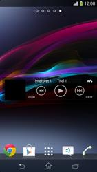 Sony Xperia Z1 Compact - Startanleitung - Installieren von Widgets und Apps auf der Startseite - Schritt 8