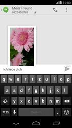 LG Google Nexus 5 - MMS - Erstellen und senden - 0 / 0