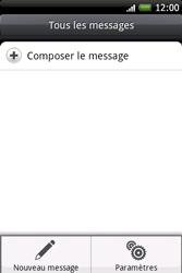 HTC A6262 Hero - SMS - Configuration manuelle - Étape 5