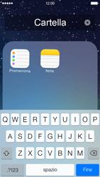 Apple iPhone 5 iOS 7 - Operazioni iniziali - personalizzazione della schermata iniziale - Fase 7