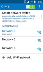 Samsung J100H Galaxy J1 - Wi-Fi - Connect to Wi-Fi network - Step 8