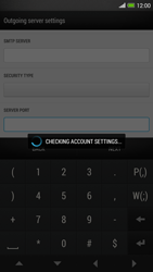 HTC One Max - E-mail - manual configuration - Step 16