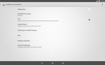 Sony Xperia Tablet Z2 (SGP521) - Internet - aan- of uitzetten - Stap 5